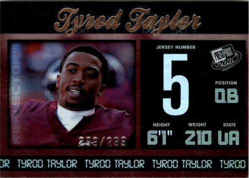 2011 Press Pass Reflectors #41 Tyrod Taylor