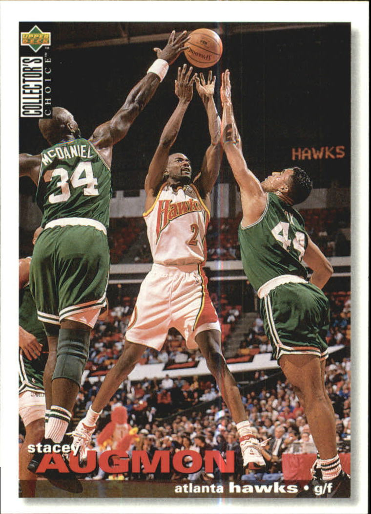 1995-96 Collector's Choice International German I #6 Stacey Augmon