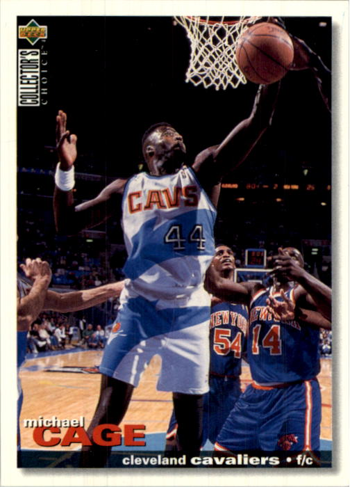 1995-96 Collector's Choice International German I #27 Michael Cage