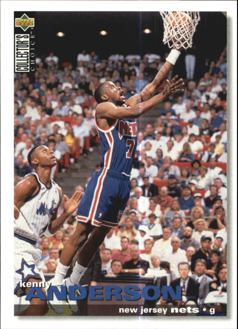 1995-96 Collector's Choice International German I #101 Kenny Anderson