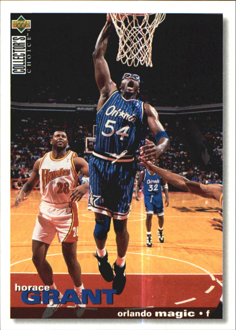 1995-96 Collector's Choice International German I #111 Horace Grant