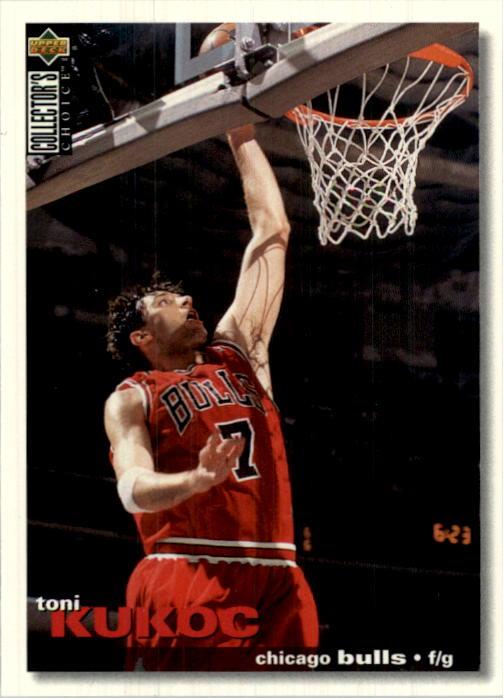 1995-96 Collector's Choice International Portuguese #16 Toni Kukoc
