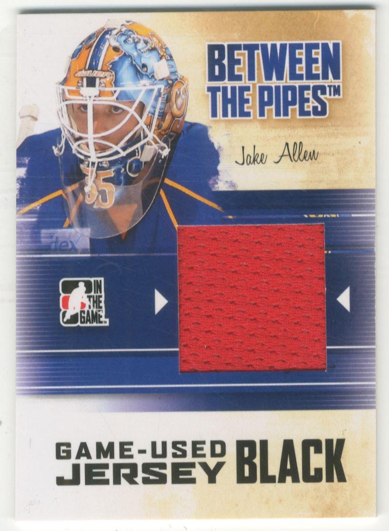 best sneakers 58193 19d43 2010-11 Between The Pipes Jerseys Black #M22 Jake Allen ...