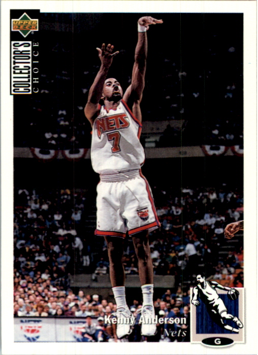 1994-95 Collector's Choice International German #164 Kenny Anderson