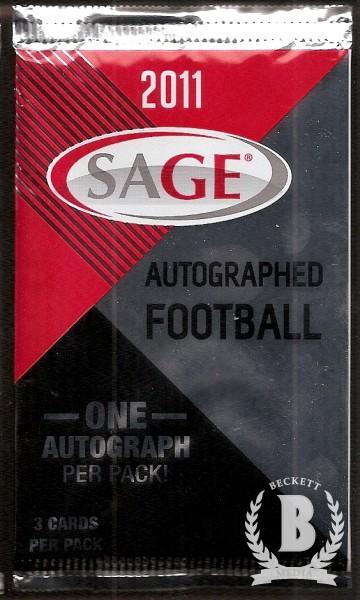 2011 SAGE Football Hobby Pack