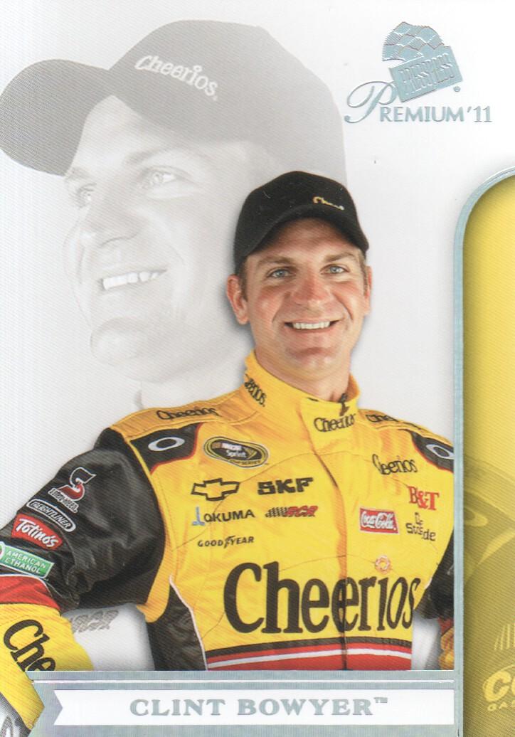 2011 Press Pass Premium #5 Clint Bowyer