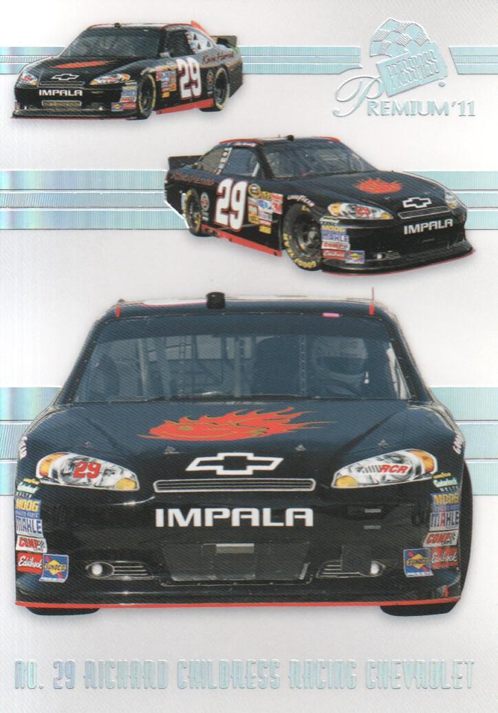 2011 Press Pass Premium #48 Kevin Harvick's Car M