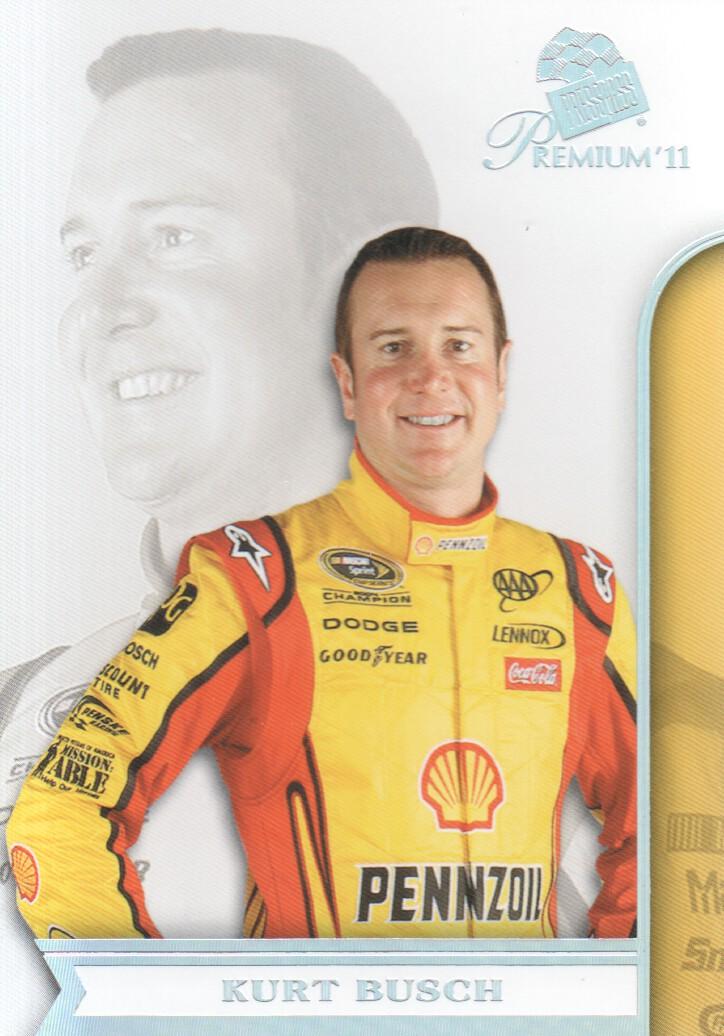 2011 Press Pass Premium #7A Kurt Busch