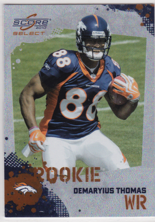 2010 Score Select Factory Set Rookie Bonus #9 Demaryius Thomas