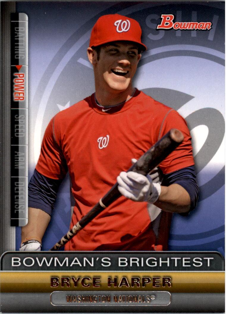 2011 Bowman Bowman's Brightest #BBR1 Bryce Harper