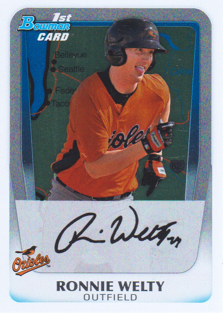 2011 Bowman Prospects International #BP52 Ronnie Welty Baltimore Orioles