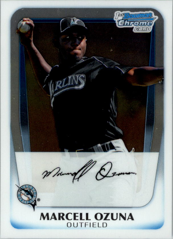 2011 Bowman Chrome Prospects #BCP36 Marcell Ozuna