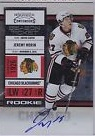 2010-11 Playoff Contenders #128 Jeremy Morin AU RC