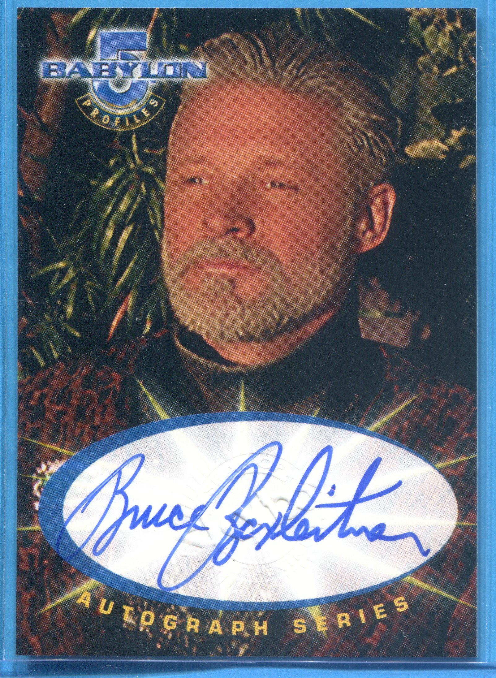 1999 Babylon 5 Profiles Sleeping in Light Autographs #SA1 Bruce Boxleitner