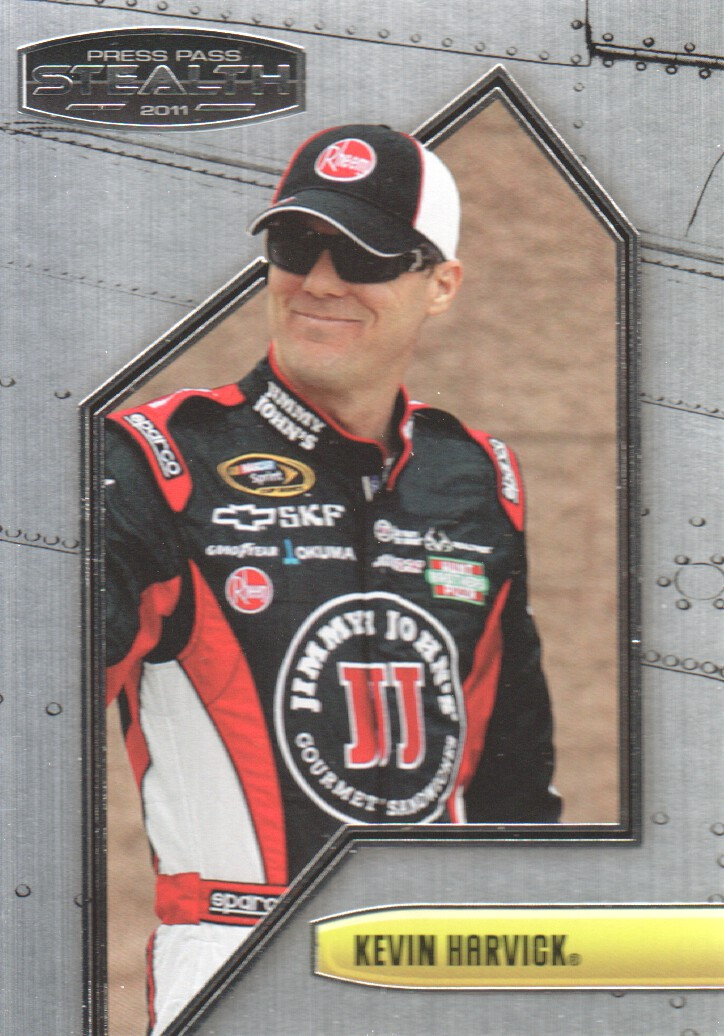 2011 Press Pass Stealth #16 Kevin Harvick