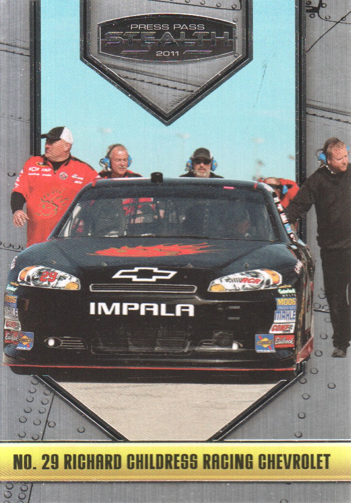 2011 Press Pass Stealth #17 Kevin Harvick's Car