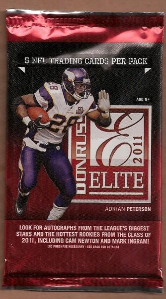 2011 Donruss Elite Football Hobby Pack