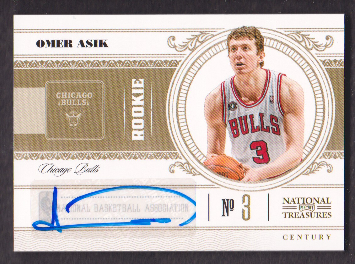 2010-11 Playoff National Treasures Century Signatures #189 Omer Asik/99