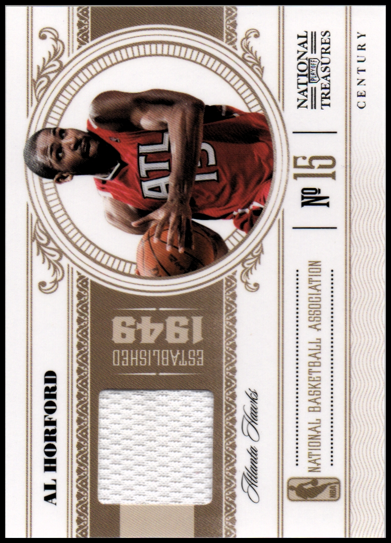 2010-11 Playoff National Treasures Century Materials #2 Al Horford/25