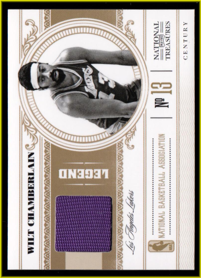 2010-11 Playoff National Treasures Century Materials #106 Wilt Chamberlain/25