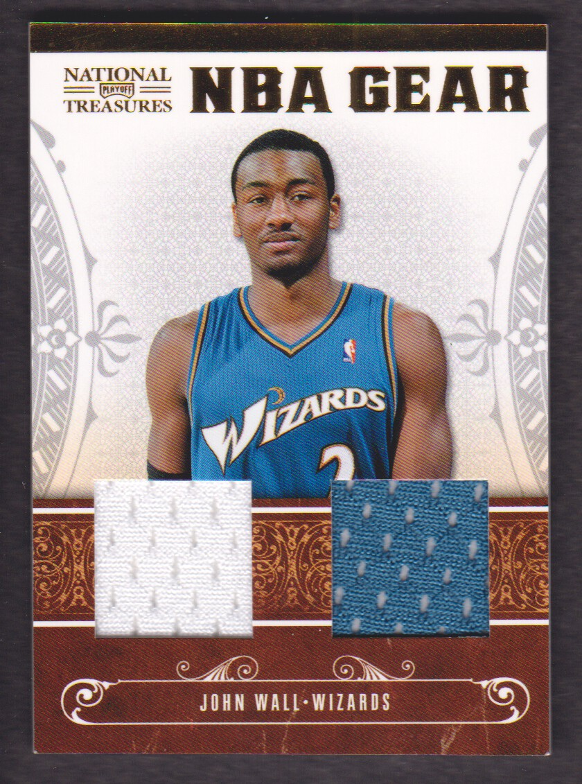 big sale 24900 62b20 2010-11 Playoff National Treasures NBA Gear Dual #1 John ...