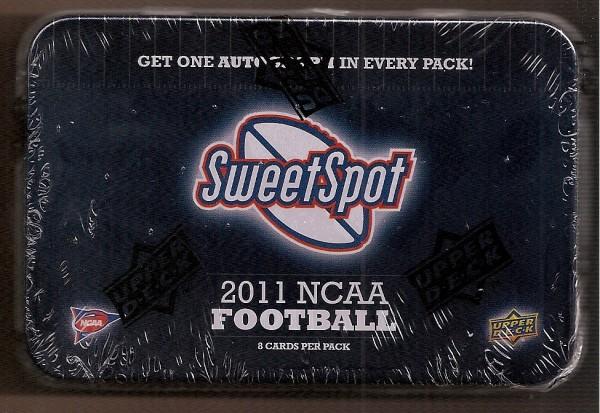 2011 Sweet Spot Football Hobby Pack