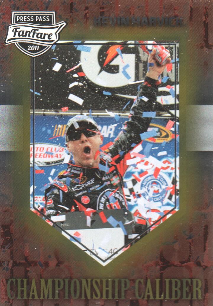 2011 Press Pass FanFare Championship Caliber #CC26 Kevin Harvick