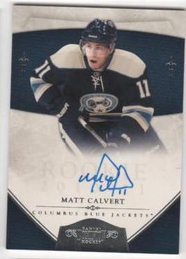 2010-11 Dominion #174 Matt Calvert AU RC