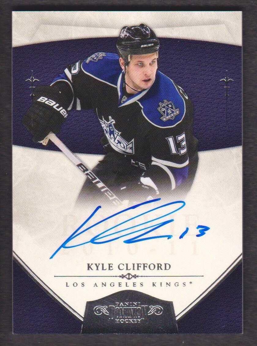 2010-11 Dominion #185 Kyle Clifford AU RC