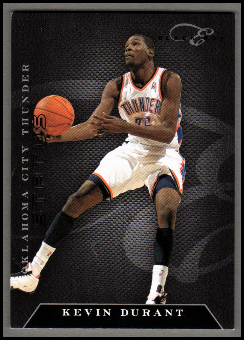 2010-11 Elite Black Box #3 Kevin Durant