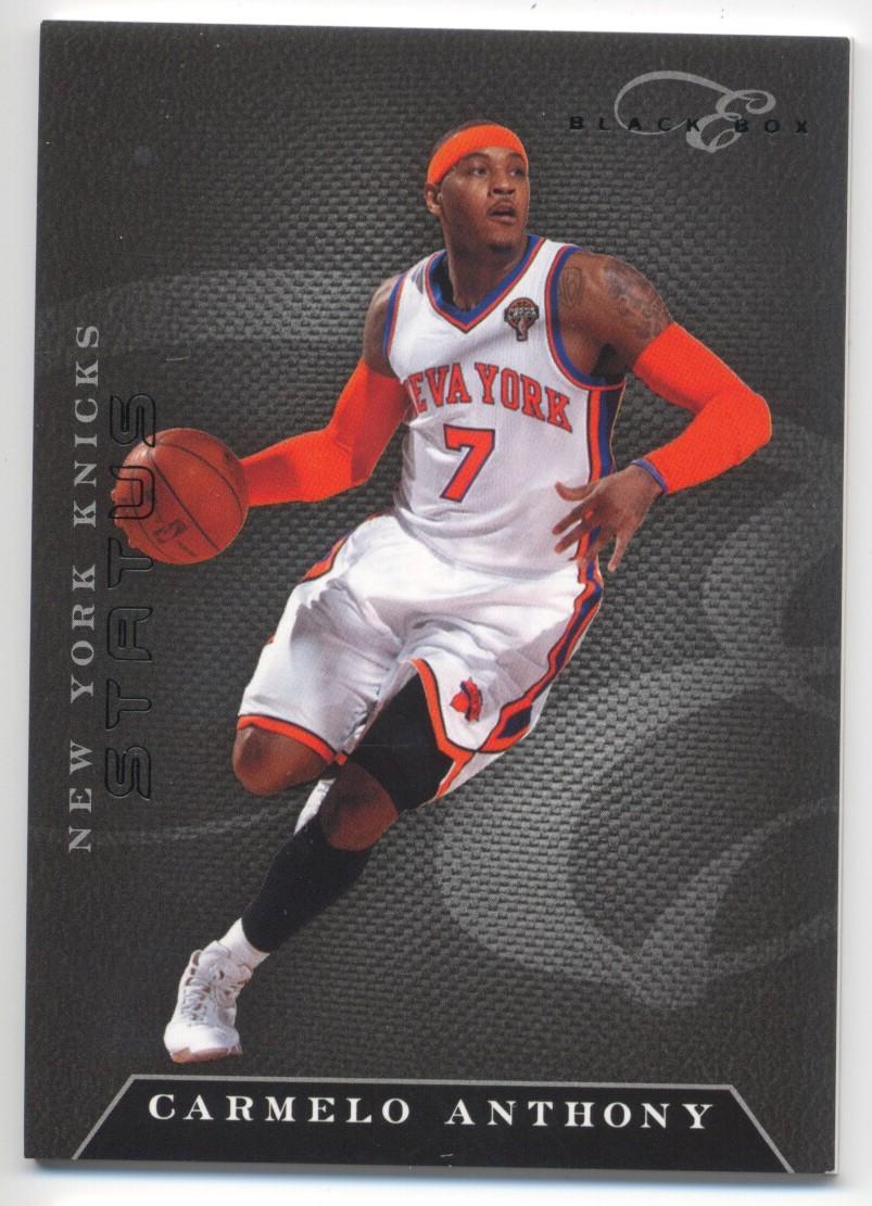 2010-11 Elite Black Box #5 Carmelo Anthony