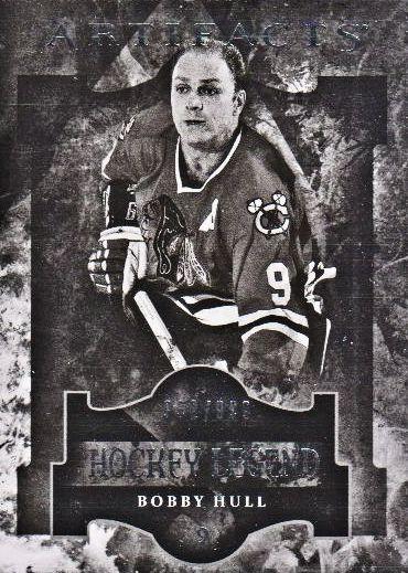 2011-12 Artifacts #103 Bobby Hull L