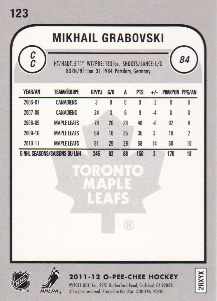 2011-12-O-Pee-Chee-Parallels-Hockey-Cards-Pick-From-List thumbnail 19