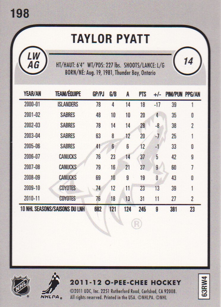 2011-12-O-Pee-Chee-Parallels-Hockey-Cards-Pick-From-List thumbnail 21