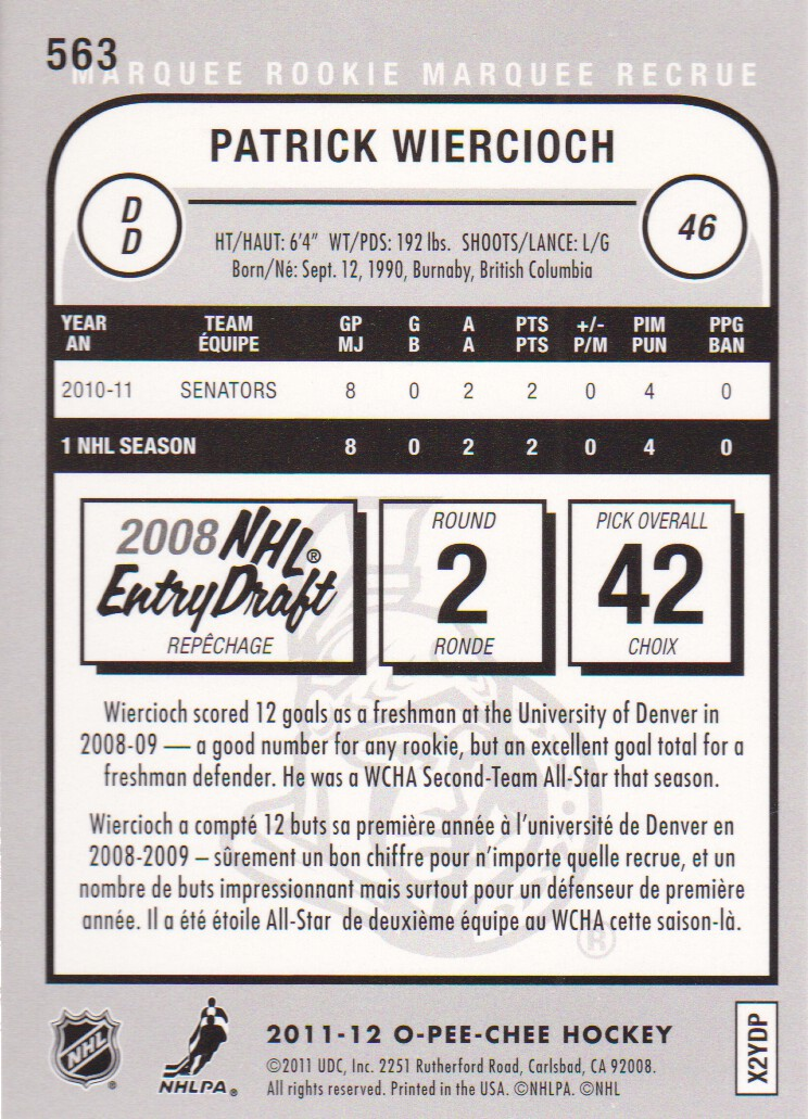 2011-12-O-Pee-Chee-Parallels-Hockey-Cards-Pick-From-List thumbnail 33