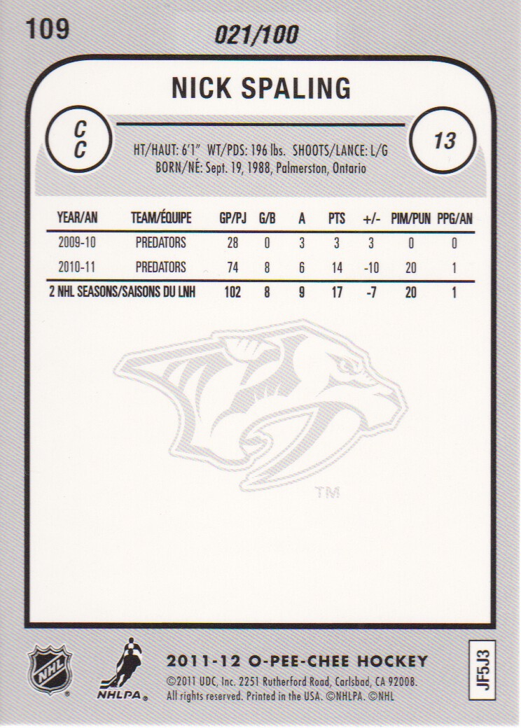 2011-12-O-Pee-Chee-Parallels-Hockey-Cards-Pick-From-List thumbnail 5