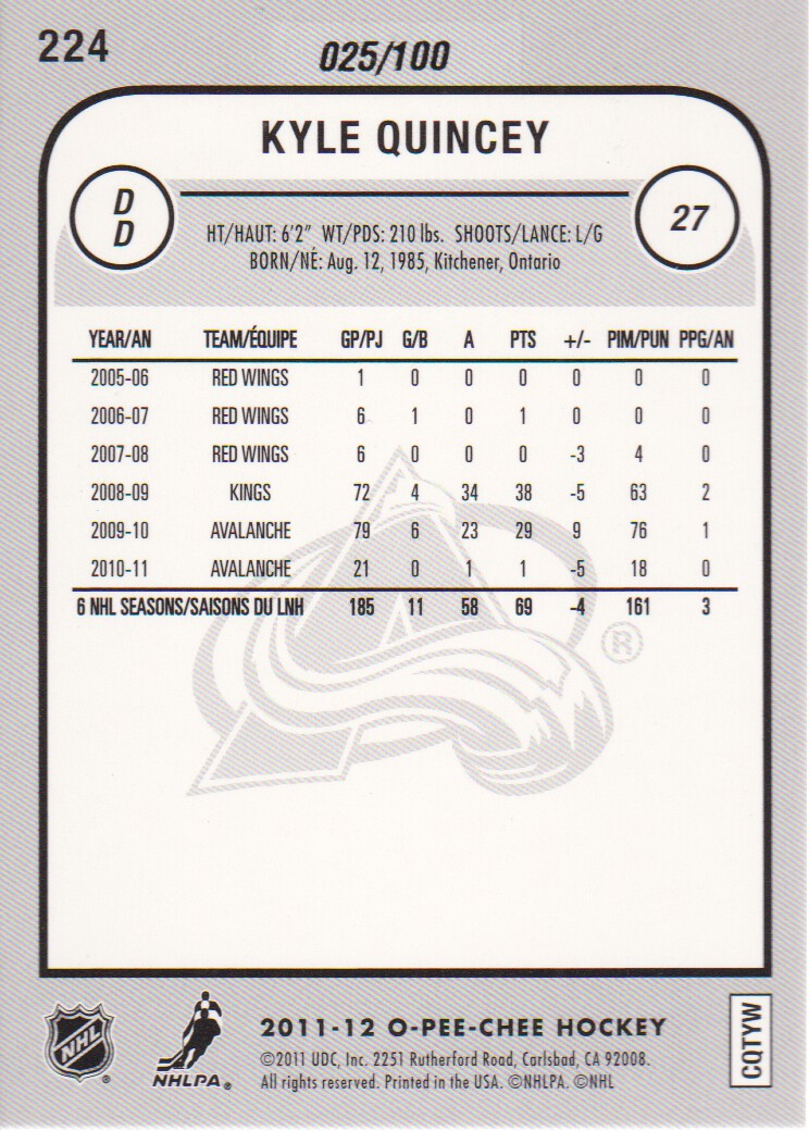 2011-12-O-Pee-Chee-Parallels-Hockey-Cards-Pick-From-List thumbnail 7