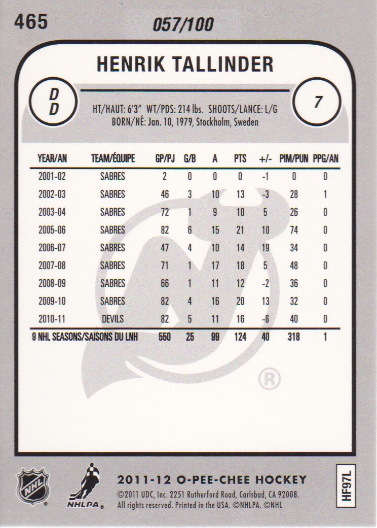 2011-12-O-Pee-Chee-Parallels-Hockey-Cards-Pick-From-List thumbnail 9