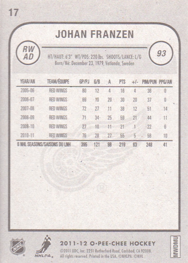 2011-12-O-Pee-Chee-Inserts-Hockey-Cards-Pick-From-List thumbnail 9