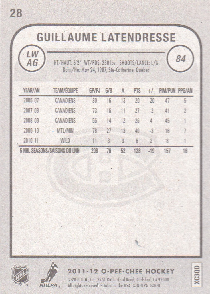 2011-12-O-Pee-Chee-Inserts-Hockey-Cards-Pick-From-List thumbnail 17