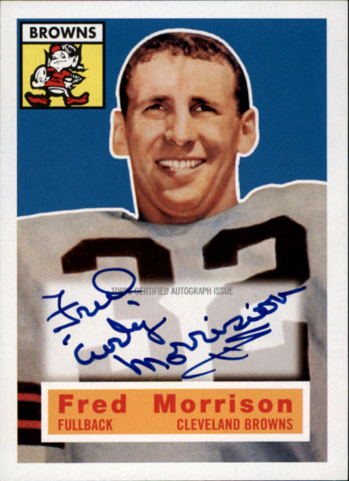 2011 Topps Legends Reprint Autographs #81 Fred Morrison