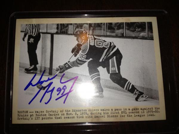 2011-12 Parkhurst Champions Autographs #101 Wayne Gretzky H WIRE