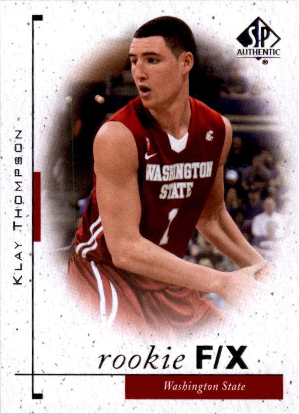 2011-12 SP Authentic #90 Klay Thompson FX