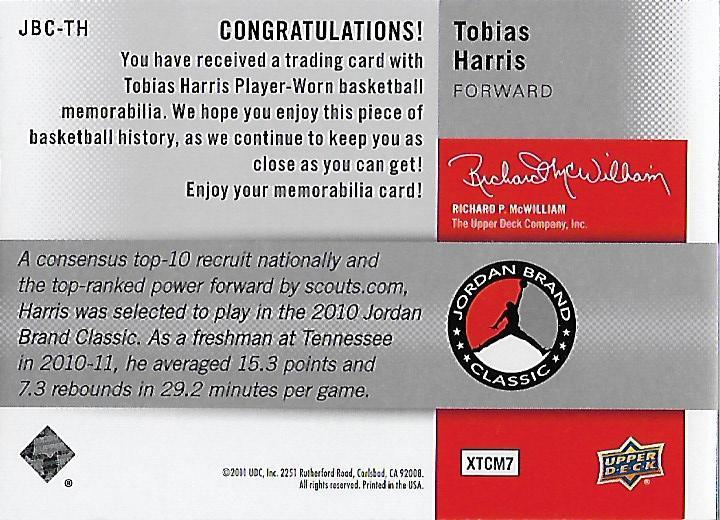 2011-12-SP-Authentic-Jordan-Brand-Classic-Basketball-Card-Pick