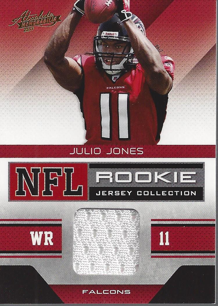 539b31f7 2011 Absolute Memorabilia Rookie Jersey Collection #20 Julio Jones