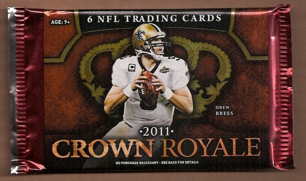 2011 Crown Royale Football Hobby Pack