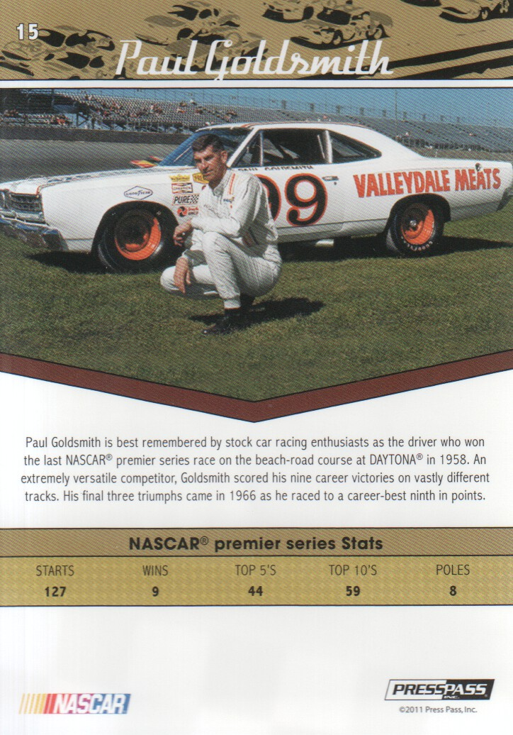 2011-Press-Pass-Legends-Parallels-NASCAR-Racing-Cards-Pick-From-List thumbnail 7
