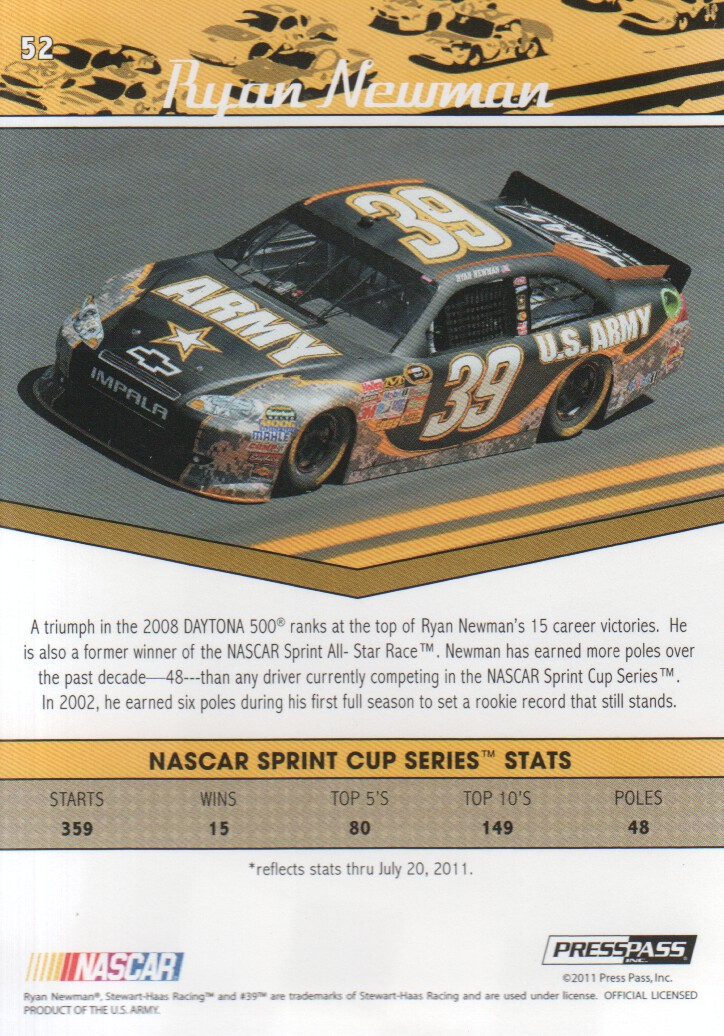 2011-Press-Pass-Legends-Parallels-NASCAR-Racing-Cards-Pick-From-List thumbnail 9