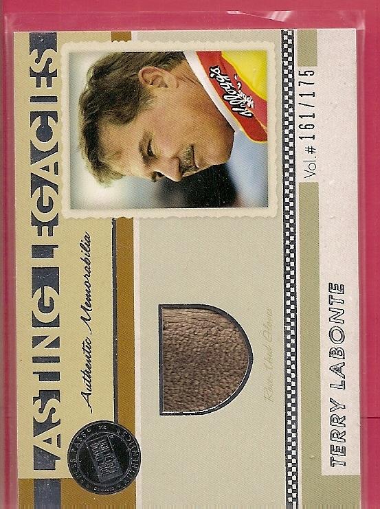 2011 Press Pass Legends Lasting Legacies Memorabilia Silver #LLTL Terry Labonte/175