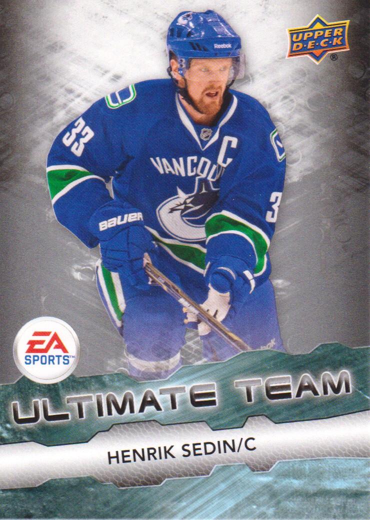 2011-12 Upper Deck EA Ultimate Team #EA4 Henrik Sedin